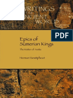 (Society of Biblical Literature Writings From the Ancient World 20) H. L. J. Vanstiphout-Epics of Sumerian Kings_ the Matter of Aratta (Writings From the Ancient World)-Society of Biblical Literature