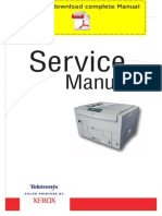 XEROX Phaser 7300 Service Manual Pages