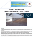 Sip008 - The Storage of Dry Bulk Cargo Guidance - Issue 1