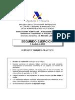 OEP 2013 Agentes Hacienda Estado Ej 2 Acceso Libre