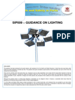 Sip009 - Guidance on Lighting - Issue 1