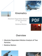 kinematics on particle