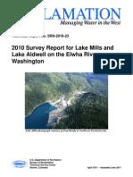 2010 Reservoir Survey Report