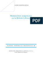 64.MARTINEZ-Manuscritos Aragoneses en La British Library