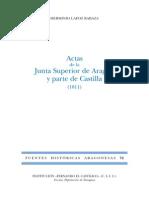 72.LAFOZ-Actas de La Junta Superio de Aragón y Parte de Castilla 1811