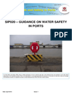 Sip020 - Guidance on Water Safety in Ports - Issue 1 - April 2014