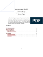 Inversion on the Fly