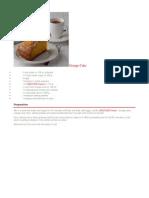 Recetario Nestle Cakes