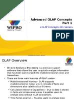 Bts(Fs-tmt) Dwh - Ucf 2.x Advanced Olap Concepts v1.0 - Part 1