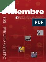 Cartelera Digital Diciembre 2015