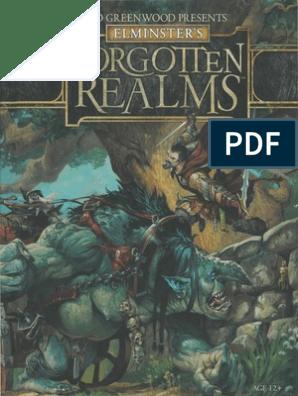 Elminster's Forgetten Realms | Elf (Dungeons & Dragons