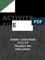activity file