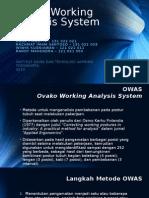 Ovako Working Analysis System (OWAS)