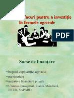 Plan de Afaceri pentru o Investitie in Fermele Agricole.ppt