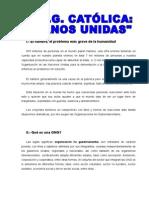 ONG Manos Unidas Trabajo