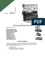 Reparacion Renault 1.9 Dci f9q
