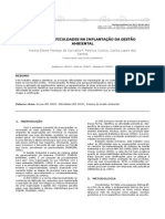 ISO 14001 - Dificuldades Na Implantação