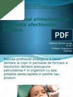 BRINZA L. S1307-Rolul Alimentatiei