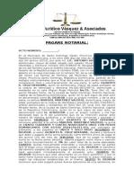 Pagare Notarial Marisol Valerio
