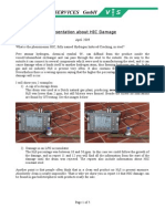 Presentation HIC Damage