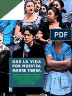Libro de Sistematización de Mujeres 2015
