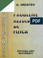 HRISTEV, Anatolie - Probleme Rezolvate de Fizica - Termodinamica