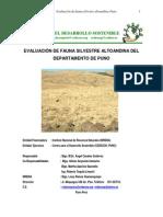 Evaluacion Poblacional Fauna Silvestre Altoandina Puno