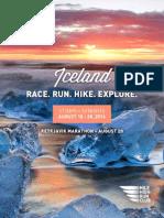 Brochure - Mile High Run Club in Iceland