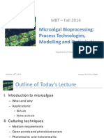 Microalgal Bioprocessing