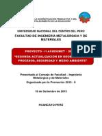 Proyecto II ACGEOMET Promoción 2015 II Corregido