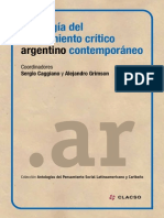 Antologia Pensamiento Contemporaneo Argentina