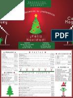 Menú Casa Maguey Navidad 2015