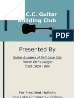 guitar builders presentation