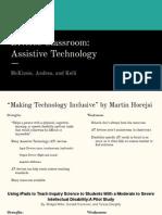 diverse classroom  assistive technology