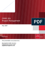 CMMI 201 Project Management