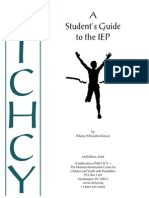 students guide to iep moodle
