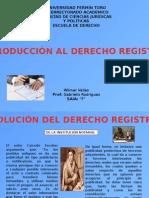 Introducción Al Derecho Registral