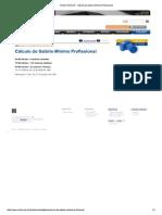 Portal CREA-SP - Cálculo...Rio Mínimo Profissional