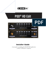 POD HD Edit Installer Guide - English ( Rev a )