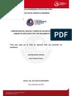 Comparacion Analisi Diseño Estrututal sap vs etabs