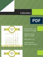 math 4 calendars