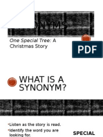 synonyms one special tree