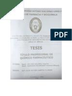 2 Efectos Del Extracto Crudo de Solanum Andigenum Coniucalex (Huagalina) Sobre La Induccion de Lesiones Gastricas Por Indometacina en Rattus Rattus Var. Albinus