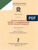 BELTRAN-Cocina y Alimentacion en El Aragon Romano