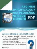 Regimen Simplificado Para Pequeños Contribuyente - Monotributo