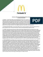 McDonald's Phoenix #DaysOfGiving