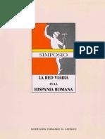 La Red Viaria en La Hispania Romana (Simposio)