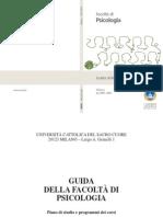 Psicologia-Guida Psicologia 2013
