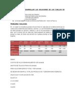 1er Informe de Produccion
