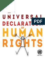 Universal Declaration of Human Rights - Illustrated Version
